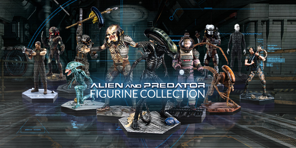 New 1 16 Scale Alien And Predator Collection Launches