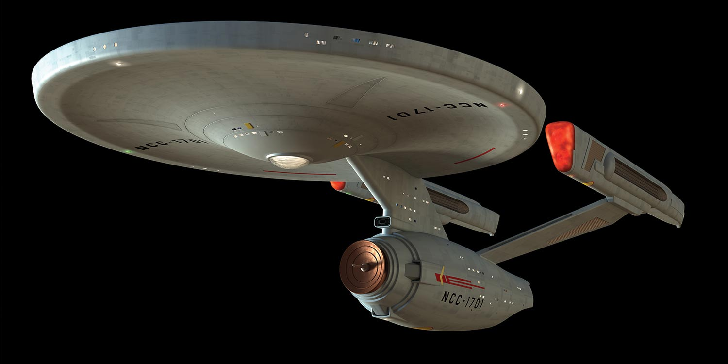 Star Trek Ncc  Uss Enterprise Movie Version